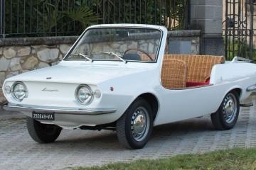 1970 Fiat 850 Spiaggetta by Michelotti – RM Monaco 2016 Preview