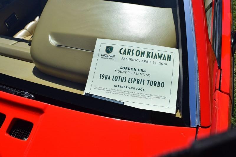 1984 LOTUS Esprit TURBO 30