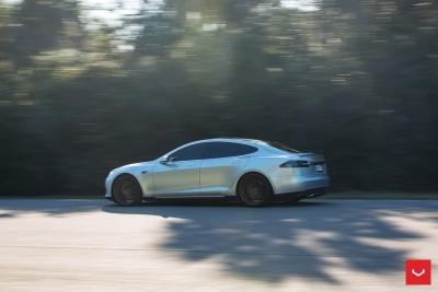 2013 Tesla Model S P85+ - Vossen VFS-2 Wheels -_25353842644_o