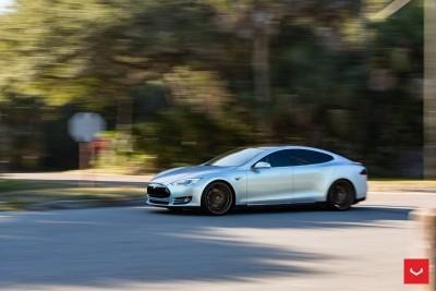 2013 Tesla Model S P85+ - Vossen VFS-2 Wheels -_25353842744_o