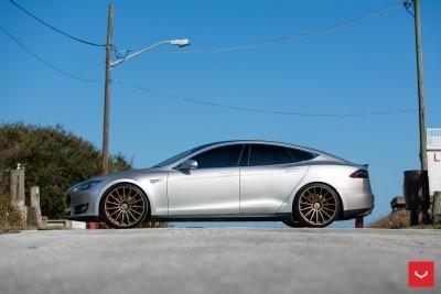 2013 Tesla Model S P85+ - Vossen VFS-2 Wheels -_25353843974_o