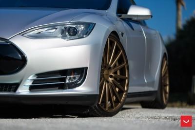 2013 Tesla Model S P85+ - Vossen VFS-2 Wheels -_25353844334_o