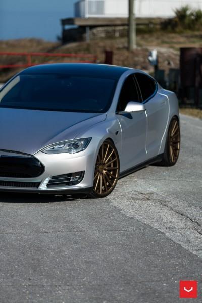 2013 Tesla Model S P85+ - Vossen VFS-2 Wheels -_25353844454_o