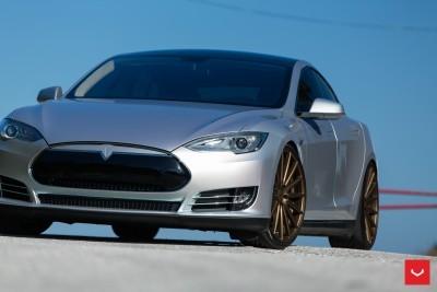 2013 Tesla Model S P85+ - Vossen VFS-2 Wheels -_25353845524_o