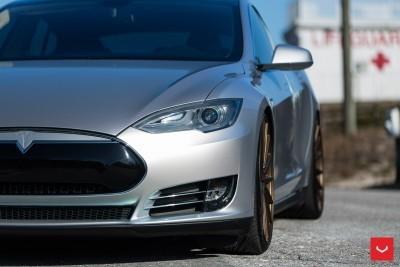 2013 Tesla Model S P85+ - Vossen VFS-2 Wheels -_25353846954_o