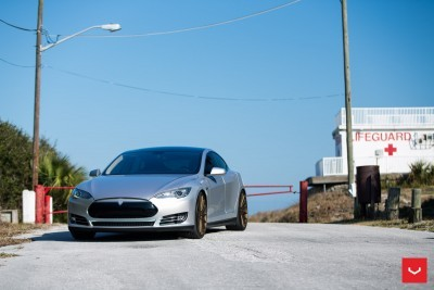 2013 Tesla Model S P85+ - Vossen VFS-2 Wheels -_25353847624_o