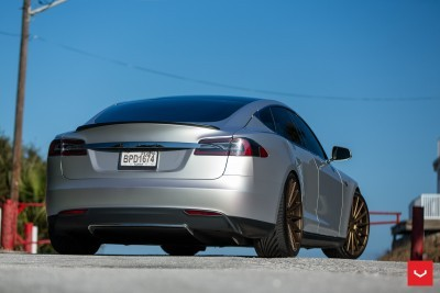 2013 Tesla Model S P85+ - Vossen VFS-2 Wheels -_25357828713_o