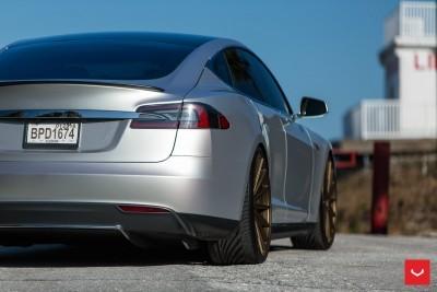2013 Tesla Model S P85+ - Vossen VFS-2 Wheels -_25357829073_o