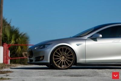 2013 Tesla Model S P85+ - Vossen VFS-2 Wheels -_25357829383_o