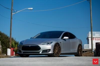 2013 Tesla Model S P85+ - Vossen VFS-2 Wheels -_25357831033_o
