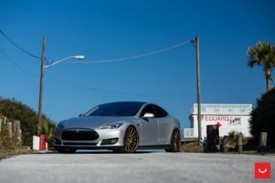 2013 Tesla Model S P85+ - Vossen VFS-2 Wheels -_25357831163_o