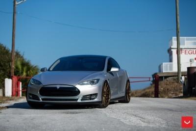 2013 Tesla Model S P85+ - Vossen VFS-2 Wheels -_25357831843_o