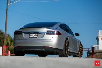 2013 Tesla Model S P85+ - Vossen VFS-2 Wheels -_25685987450_o