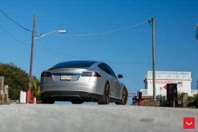 2013 Tesla Model S P85+ - Vossen VFS-2 Wheels -_25685987540_o