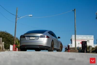 2013 Tesla Model S P85+ - Vossen VFS-2 Wheels -_25685987540_o