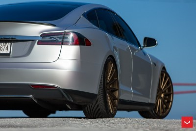 2013 Tesla Model S P85+ - Vossen VFS-2 Wheels -_25685987630_o