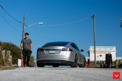2013 Tesla Model S P85+ - Vossen VFS-2 Wheels -_25685987720_o