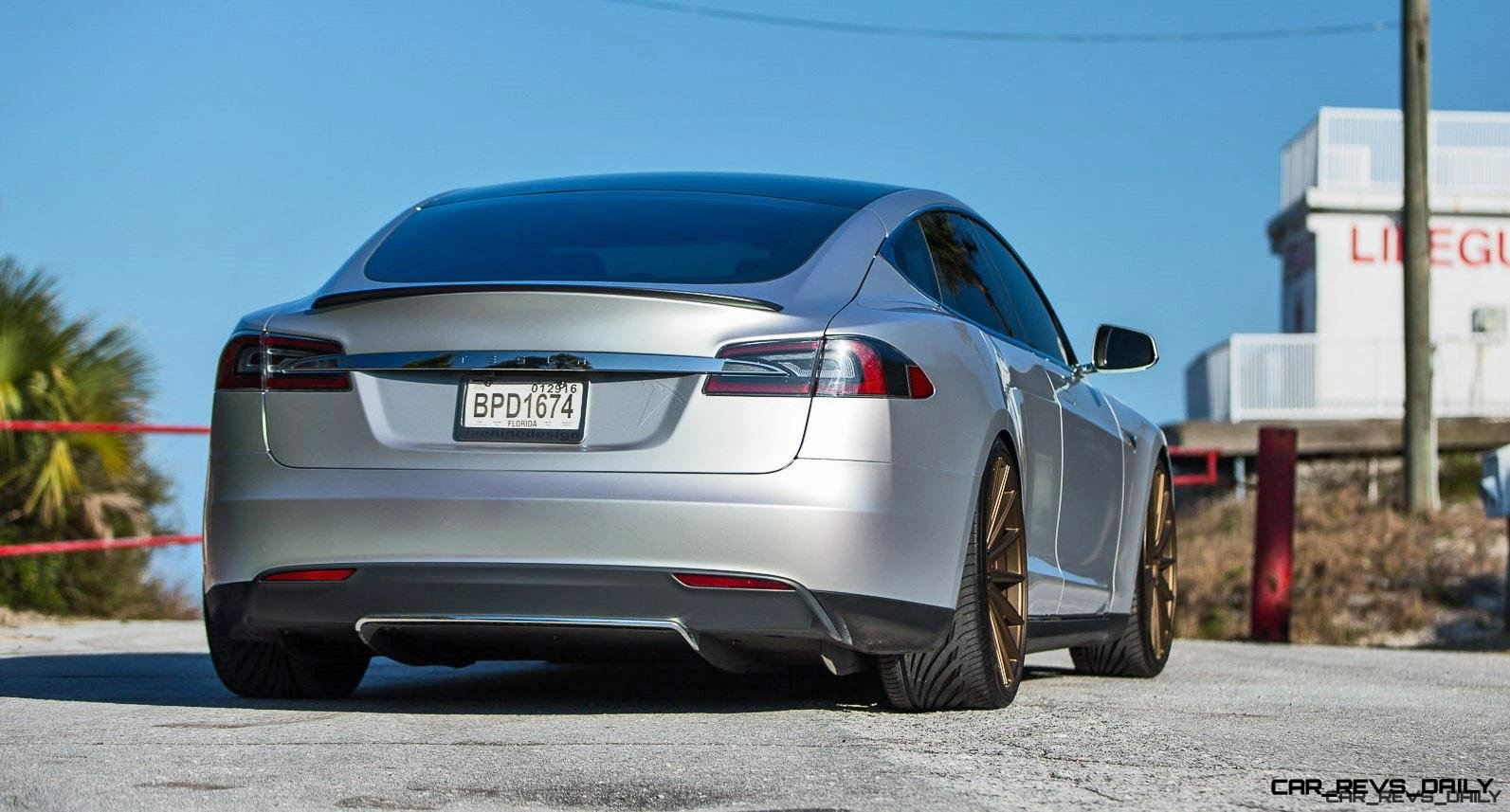 2013 Tesla Model S P85+ - Vossen VFS-2 Wheels -_25685987910_o