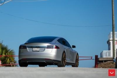 2013 Tesla Model S P85+ - Vossen VFS-2 Wheels -_25685988170_o