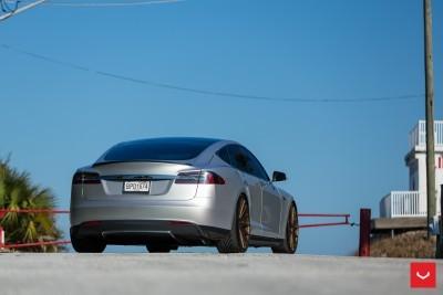 2013 Tesla Model S P85+ - Vossen VFS-2 Wheels -_25685988170_o