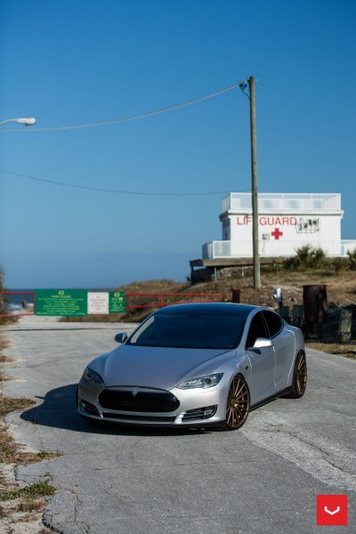2013 Tesla Model S P85+ - Vossen VFS-2 Wheels -_25685989090_o