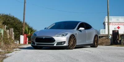 2013 Tesla Model S P85+ - Vossen VFS-2 Wheels -_25685990050_o