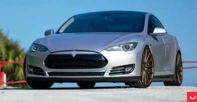 2013 Tesla Model S P85+ - Vossen VFS-2 Wheels -_25685990630_o