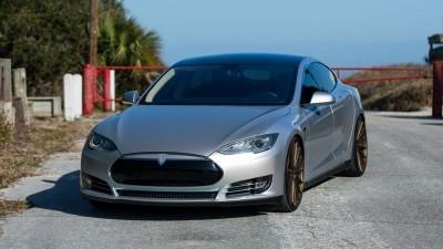 2013 Tesla Model S P85+ - Vossen VFS-2 Wheels -_25685991530_o