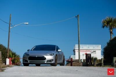 2013 Tesla Model S P85+ - Vossen VFS-2 Wheels -_25685991660_o