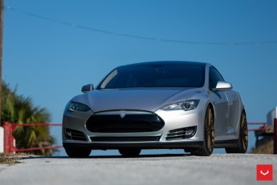 2013 Tesla Model S P85+ - Vossen VFS-2 Wheels -_25685991760_o