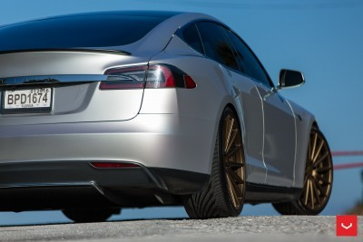 2013 Tesla Model S P85+ - Vossen VFS-2 Wheels -_25865744872_o