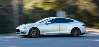 2013 Tesla Model S P85+ - Vossen VFS-2 Wheels -_25865745012_o