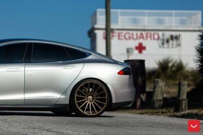 2013 Tesla Model S P85+ - Vossen VFS-2 Wheels -_25865746162_o