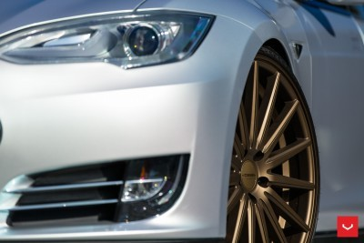 2013 Tesla Model S P85+ - Vossen VFS-2 Wheels -_25865746532_o