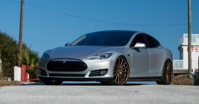 2013 Tesla Model S P85+ - Vossen VFS-2 Wheels -_25865747602_o