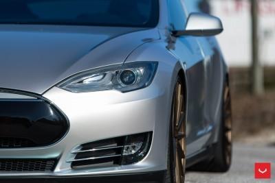 2013 Tesla Model S P85+ - Vossen VFS-2 Wheels -_25865749082_o
