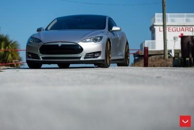 2013 Tesla Model S P85+ - Vossen VFS-2 Wheels -_25865749622_o