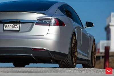 2013 Tesla Model S P85+ - Vossen VFS-2 Wheels -_25891595781_o
