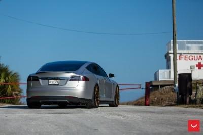 2013 Tesla Model S P85+ - Vossen VFS-2 Wheels -_25891596221_o