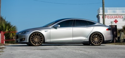 2013 Tesla Model S P85+ - Vossen VFS-2 Wheels -_25891596361_o