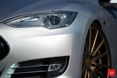 2013 Tesla Model S P85+ - Vossen VFS-2 Wheels -_25891596491_o