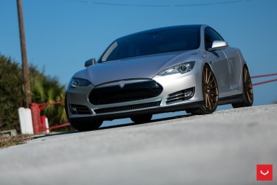 2013 Tesla Model S P85+ - Vossen VFS-2 Wheels -_25891598321_o