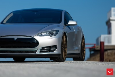 2013 Tesla Model S P85+ - Vossen VFS-2 Wheels -_25891599651_o