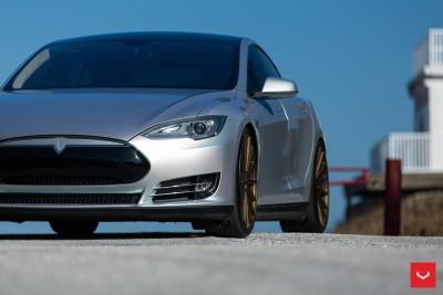 2013 Tesla Model S P85+ - Vossen VFS-2 Wheels -_25891599651_o
