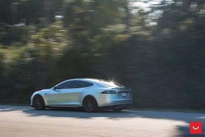2013 Tesla Model S P85+ - Vossen VFS-2 Wheels -_25960628226_o