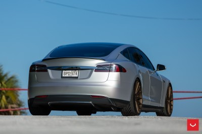 2013 Tesla Model S P85+ - Vossen VFS-2 Wheels -_25960629086_o