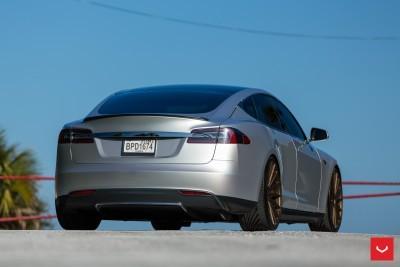 2013 Tesla Model S P85+ - Vossen VFS-2 Wheels -_25960629086_o