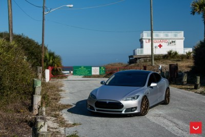 2013 Tesla Model S P85+ - Vossen VFS-2 Wheels -_25960630106_o