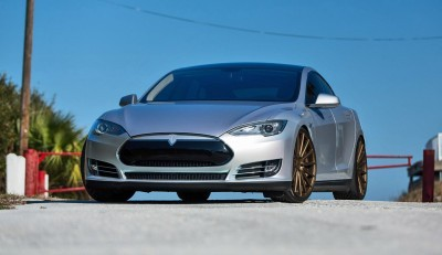 2013 Tesla Model S P85+ - Vossen VFS-2 Wheels -_25960631446_o