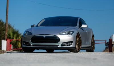 2013 Tesla Model S P85+ - Vossen VFS-2 Wheels -_25960631446_o